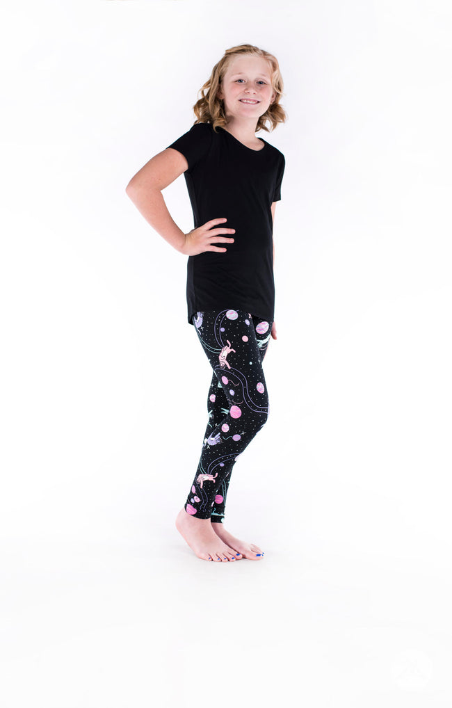 Spaced Out Kids leggings - SweetLegs