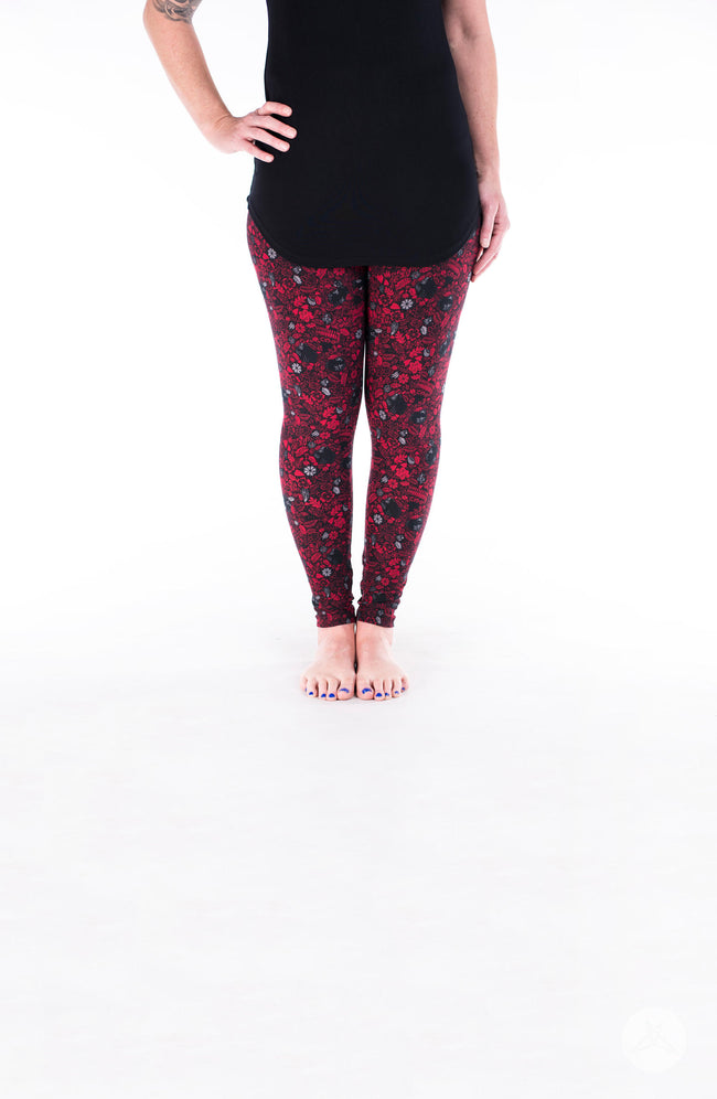 Glamrock Petite leggings - SweetLegs