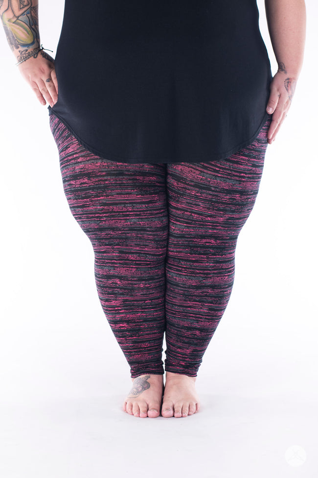 Berry Opal Plus2 leggings - SweetLegs