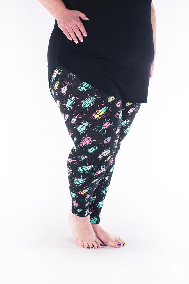 Sorry To Bug Plus leggings - SweetLegs