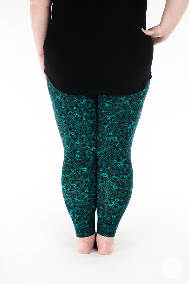 Flaunt It Plus leggings - SweetLegs