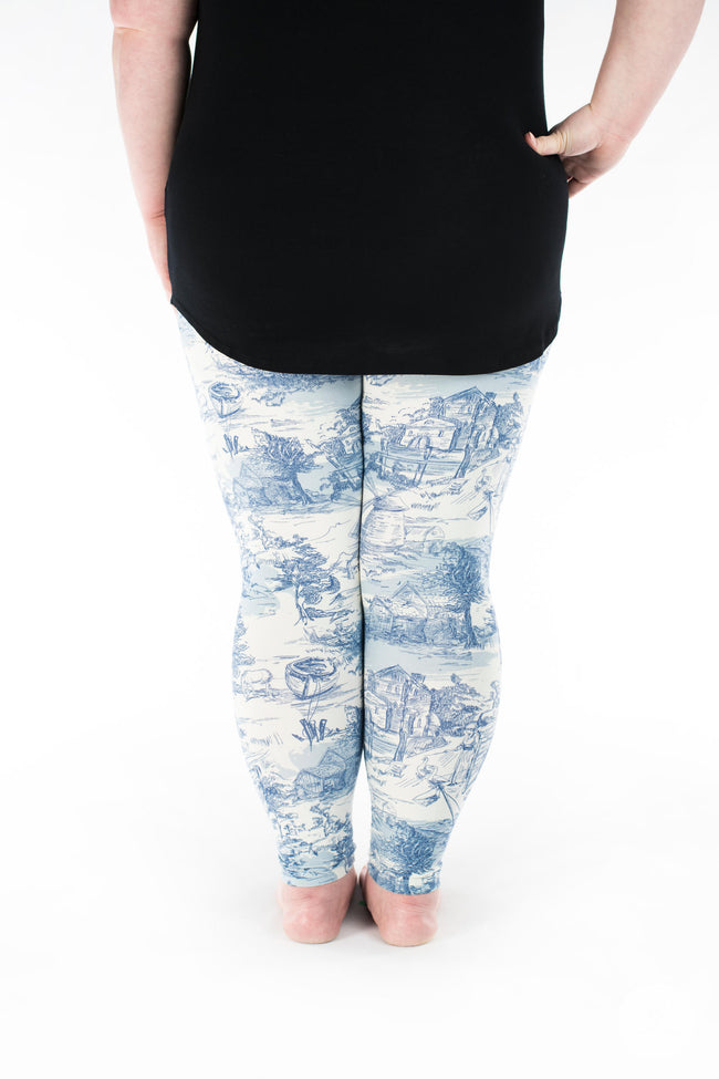 Avonlea Plus leggings - SweetLegs