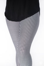 Gingham Style Petite leggings - SweetLegs