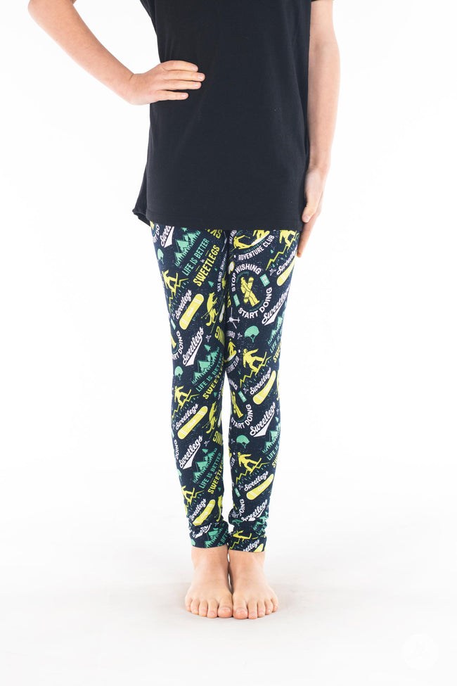 Lift Pass Kids leggings - SweetLegs