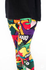 Prehistoric Punch Kids leggings - SweetLegs