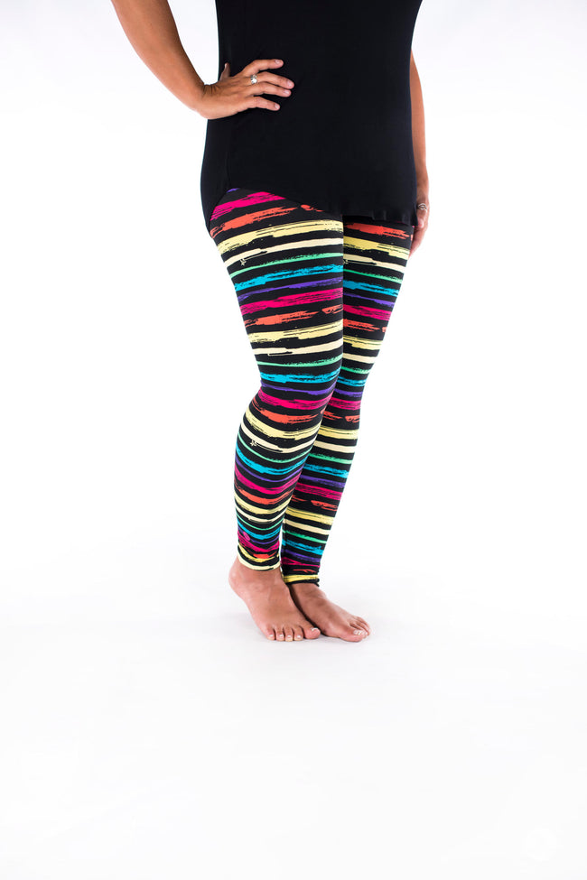 Rainbow Road leggings - SweetLegs