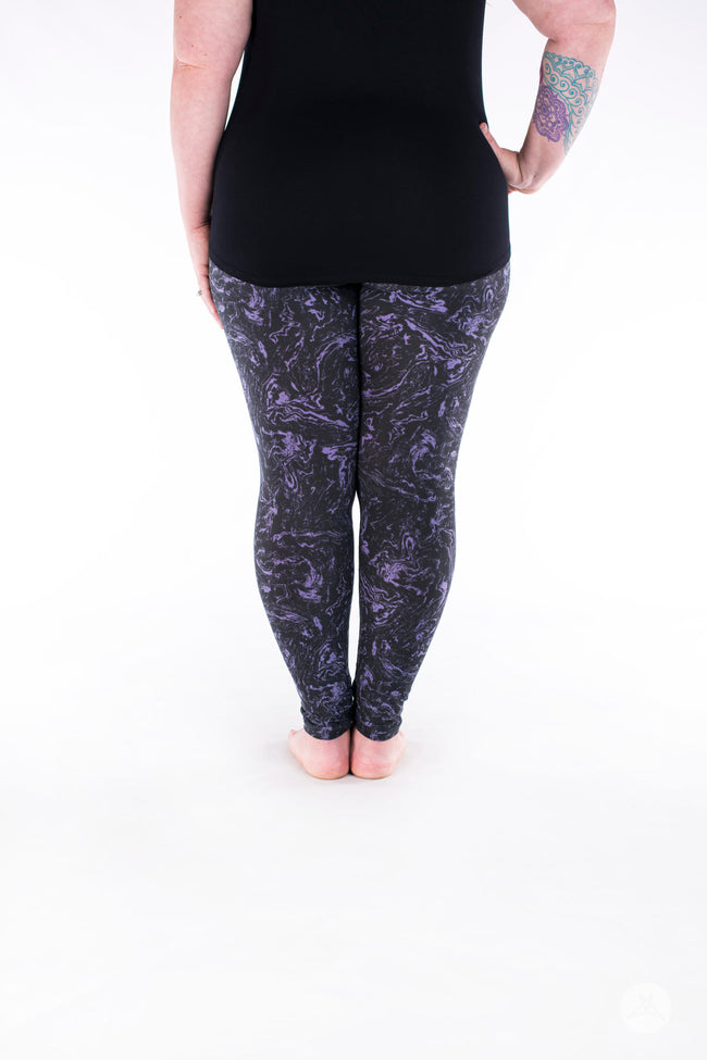 Gemstone Plus leggings - SweetLegs