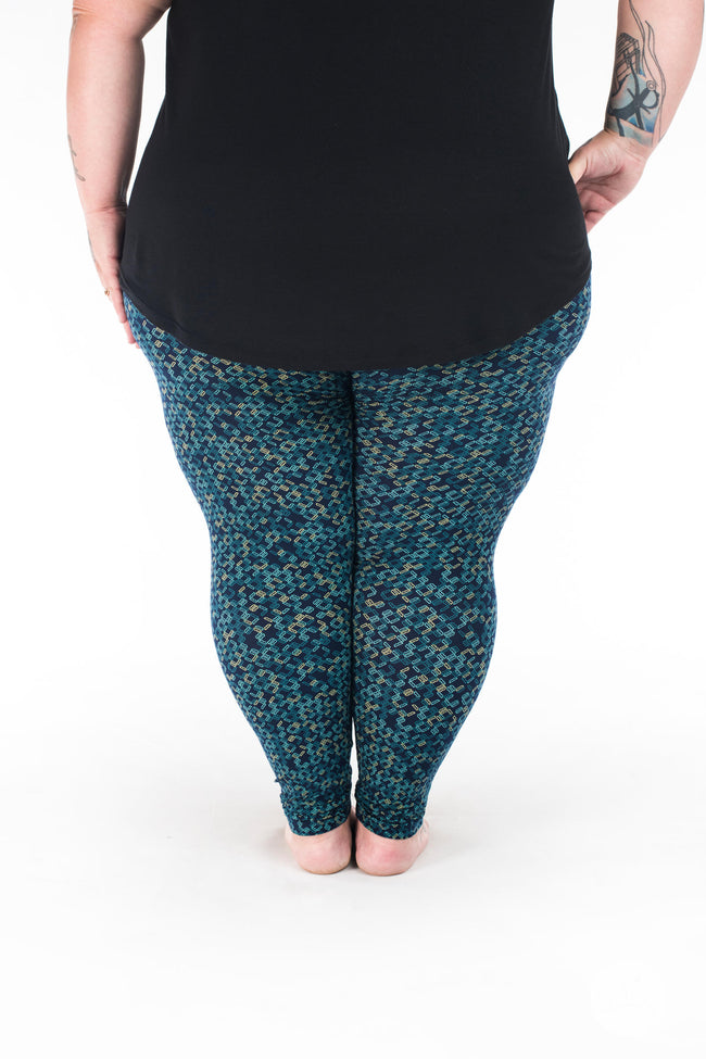 Missing Link Plus2 leggings - SweetLegs
