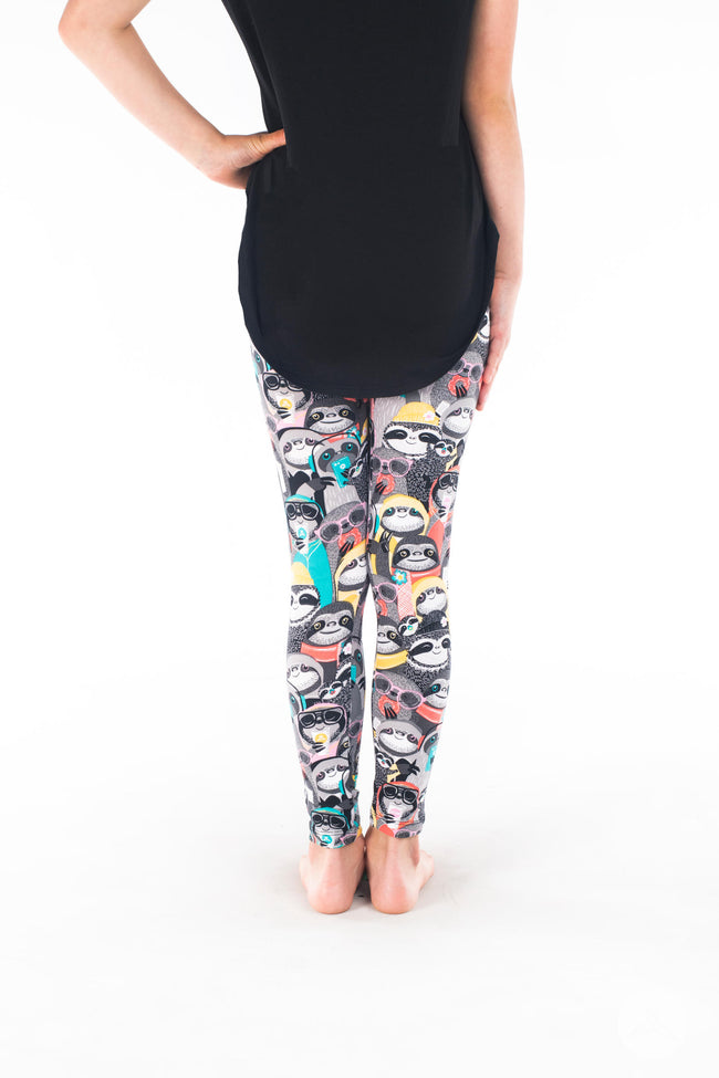 Not So Fast Kids leggings - SweetLegs