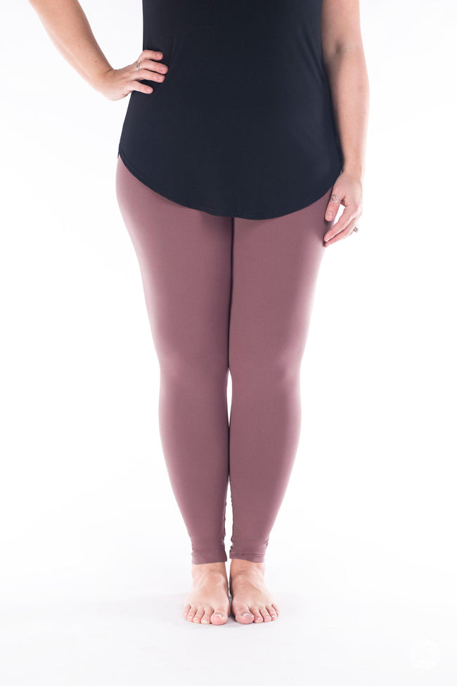 Mauving On Up leggings - SweetLegs