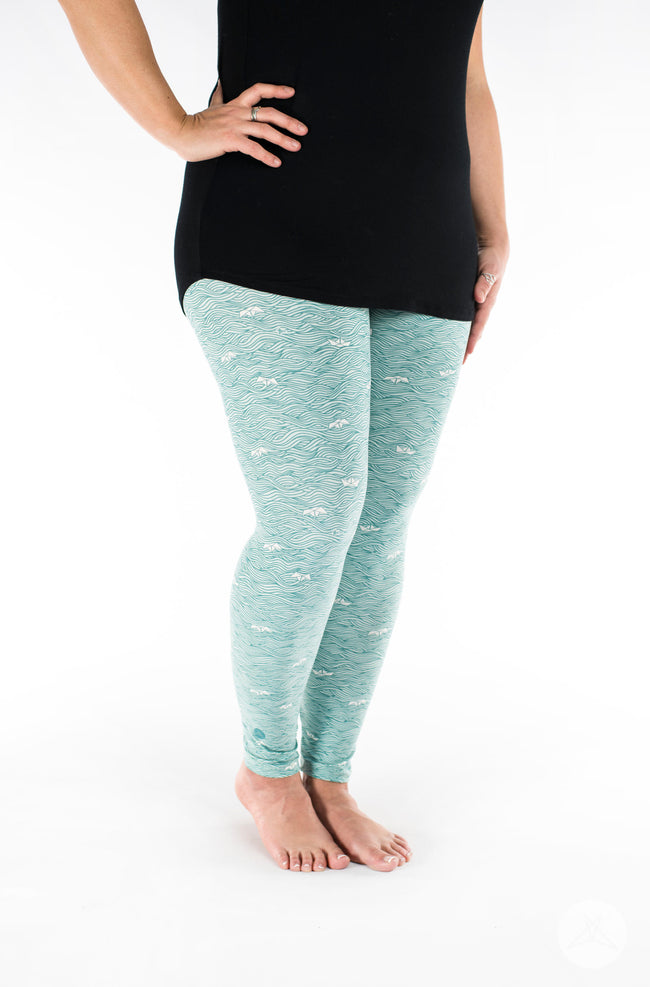 Make Waves leggings - SweetLegs
