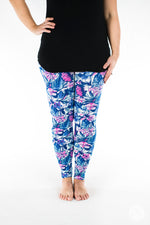 Aloha leggings - SweetLegs