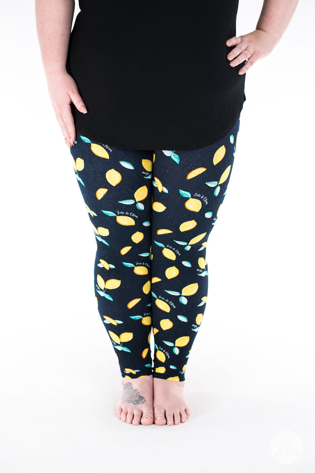 Main Squeeze Plus leggings - SweetLegs