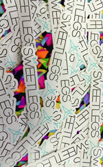 50 SweetLegs Stickers leggings - SweetLegs
