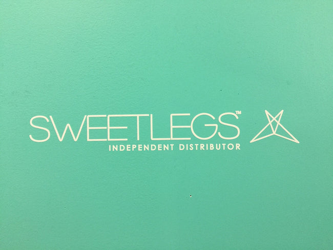 "Vehicle Decal Small 14""x2"" leggings - SweetLegs"