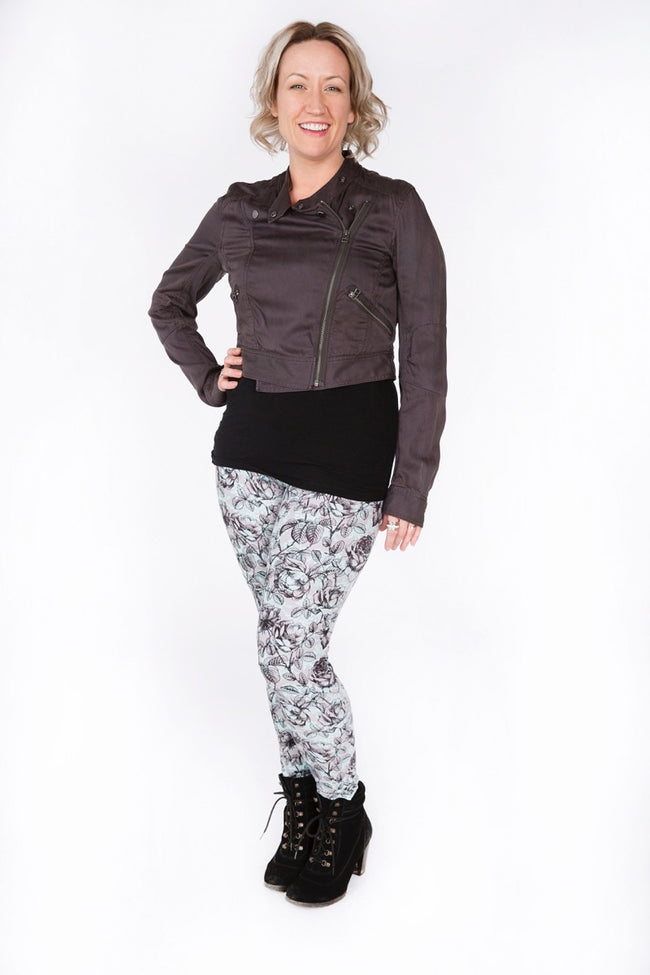 London Fog Plus leggings - SweetLegs