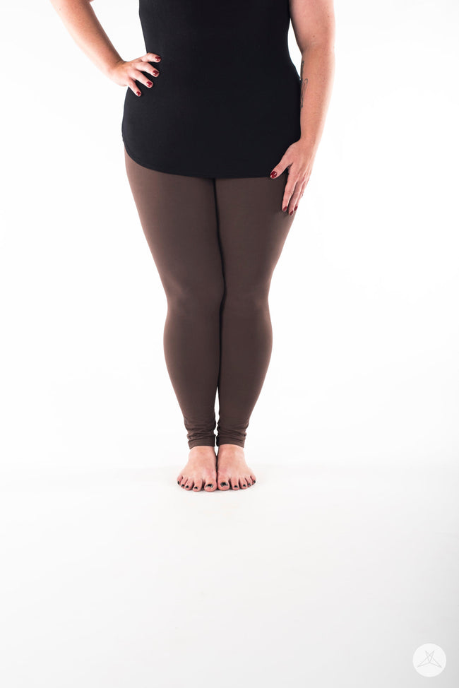 Woodland Plus leggings - SweetLegs