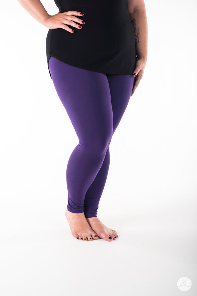 Amethyst Plus leggings - SweetLegs