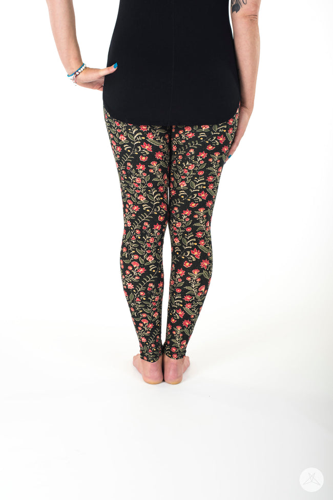 Harvest Blossom leggings - SweetLegs