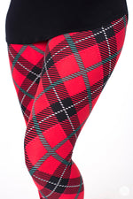 Perfectly Plaid leggings - SweetLegs
