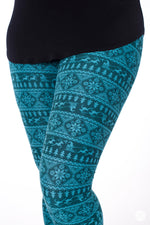 Sleigh Ride leggings - SweetLegs