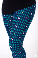 Reindeer Games leggings - SweetLegs