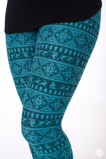 Sleigh Ride Petite leggings - SweetLegs