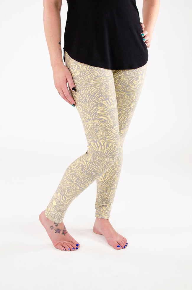 Mellow Yellow leggings - SweetLegs