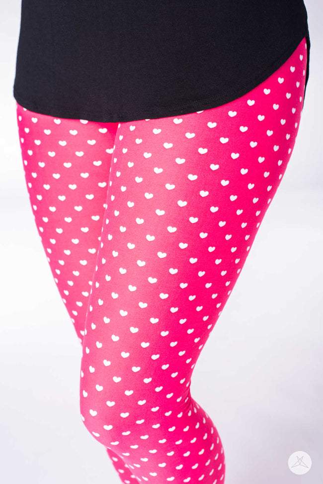 Lovestruck Kids leggings - SweetLegs