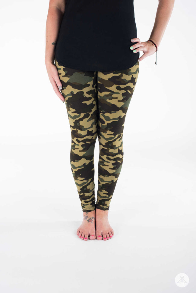 Sweet Camo leggings - SweetLegs