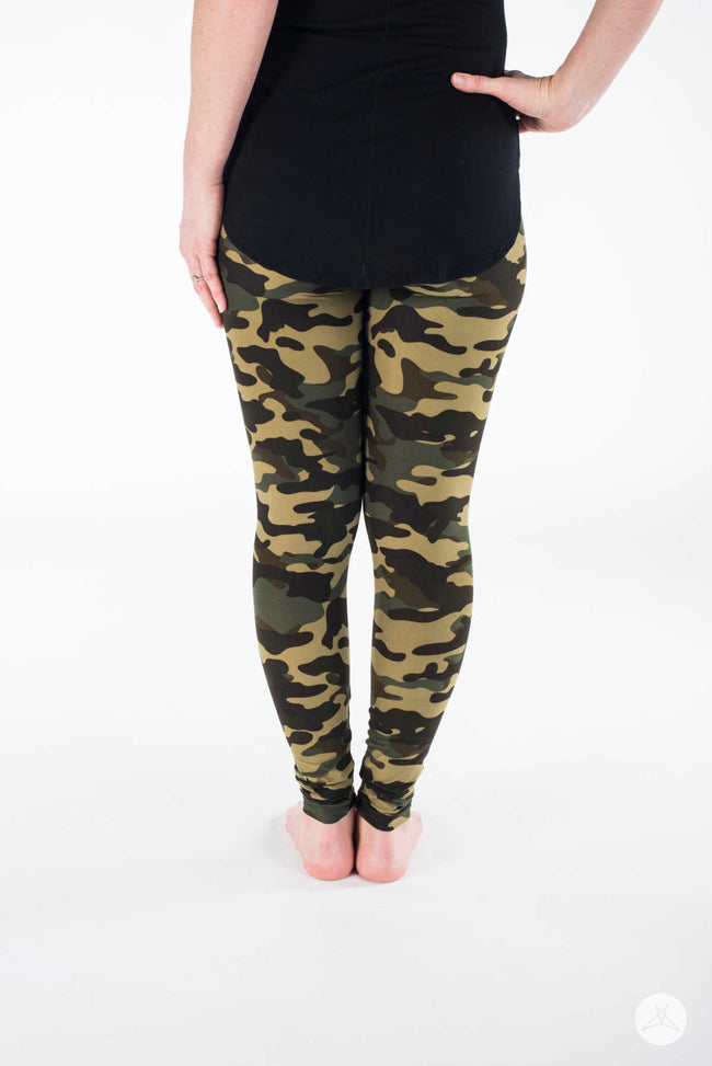 Sweet Camo Petite leggings - SweetLegs