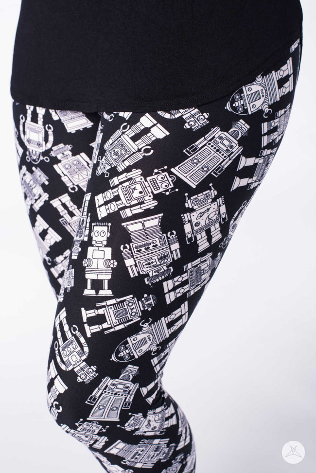 Wonderbots Petite leggings - SweetLegs