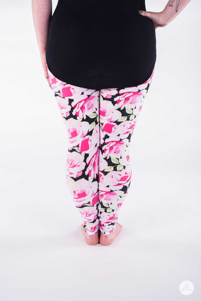 Everbloom Plus leggings - SweetLegs