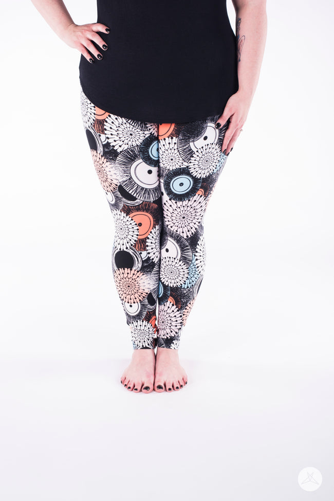 Starburst Plus leggings - SweetLegs