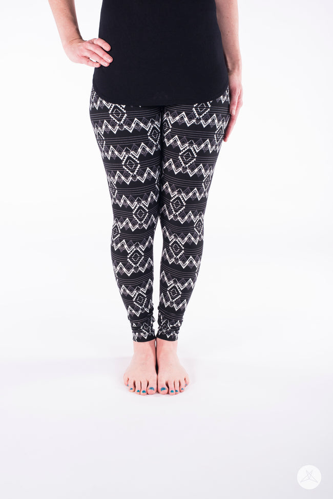 White Noise Petite leggings - SweetLegs