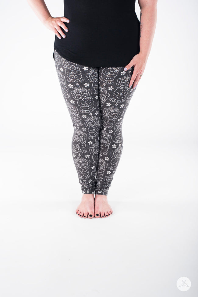 Spring Blossom Plus leggings - SweetLegs