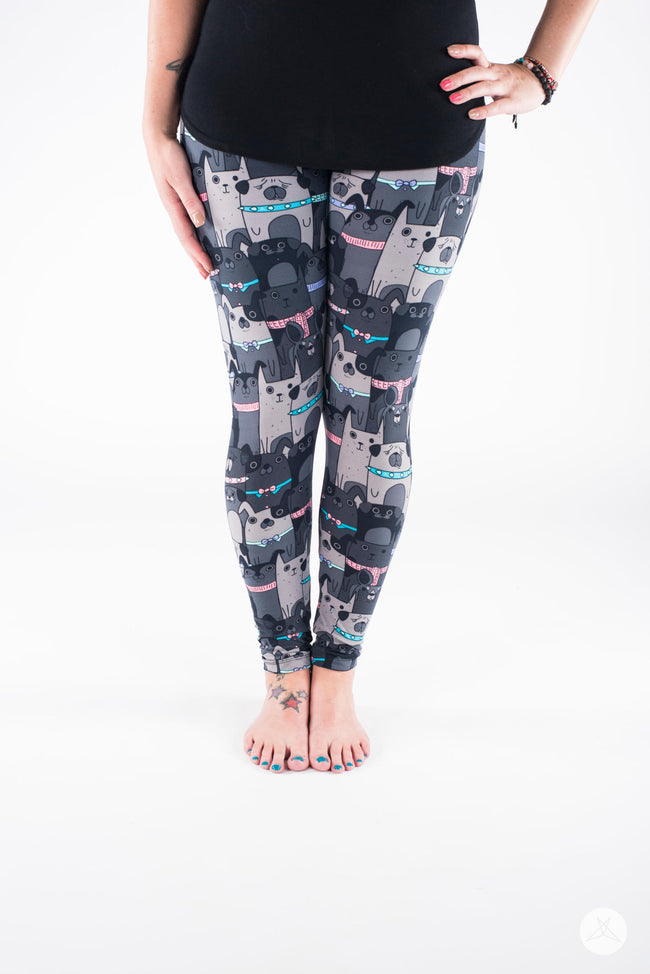 Ruff House leggings - SweetLegs