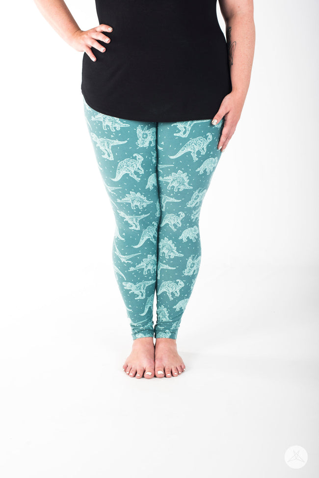 Dino-mite Plus leggings - SweetLegs