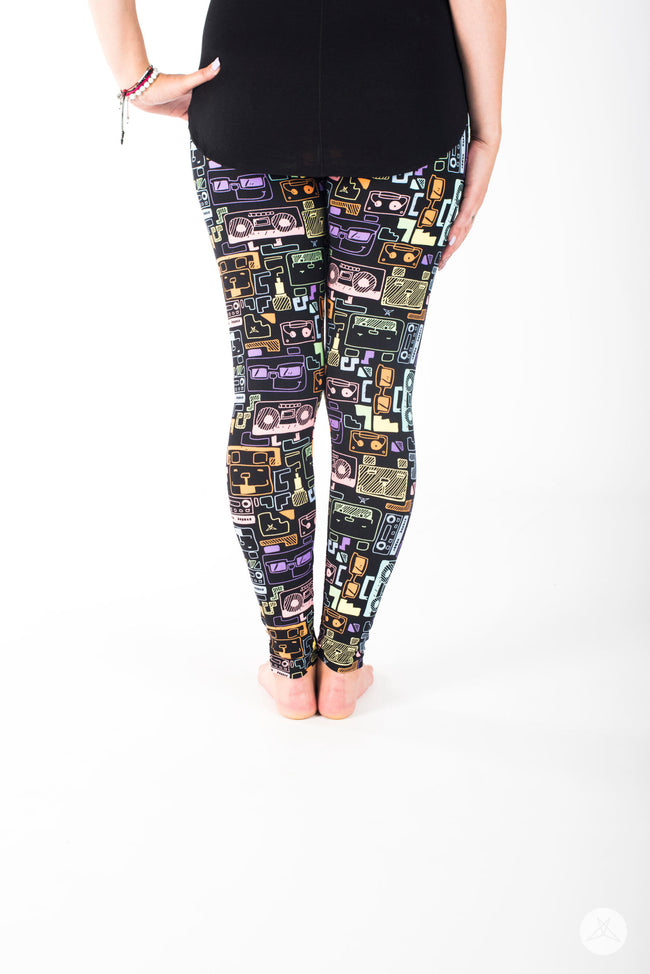 Sound Bytes leggings - SweetLegs