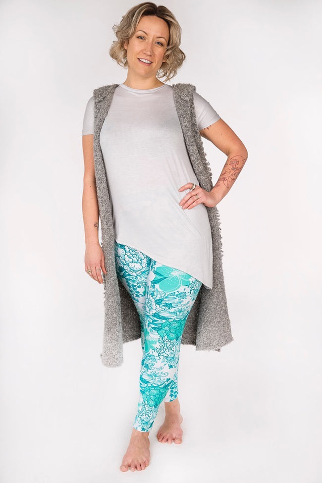 Island Breeze Plus leggings - SweetLegs