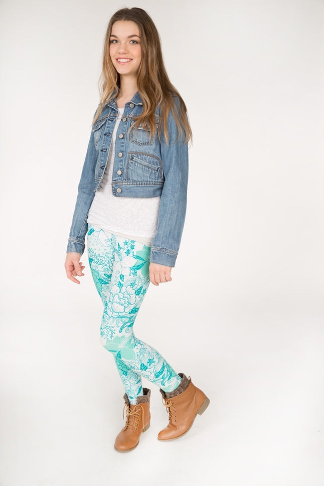 Island Breeze Petite leggings - SweetLegs