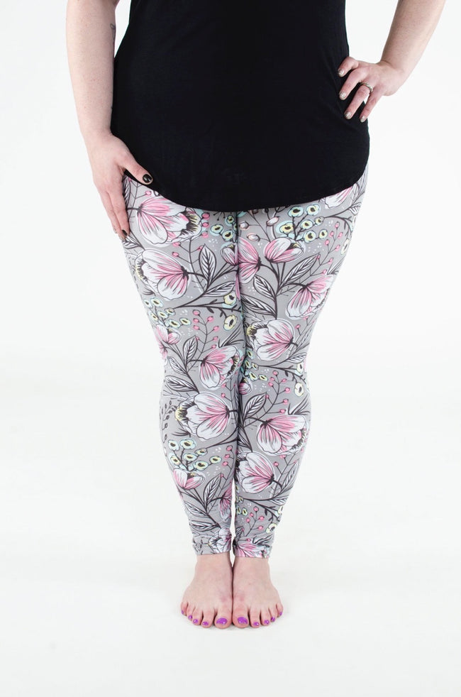 Adelaide Plus leggings - SweetLegs