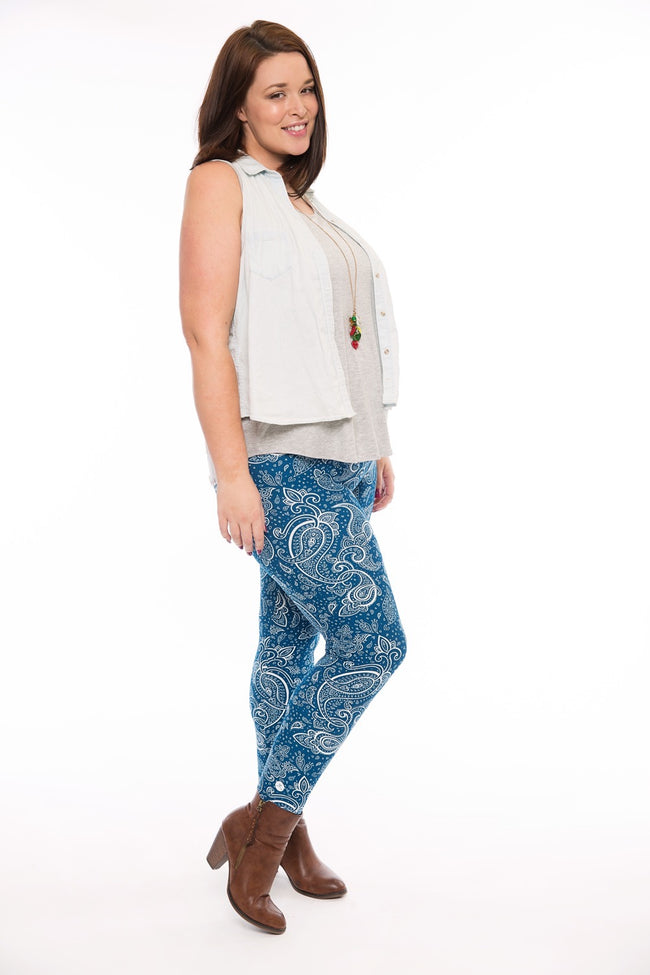 Gypsy Soul Plus leggings - SweetLegs