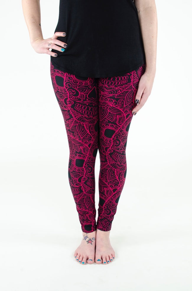 Crimson Sugar leggings - SweetLegs