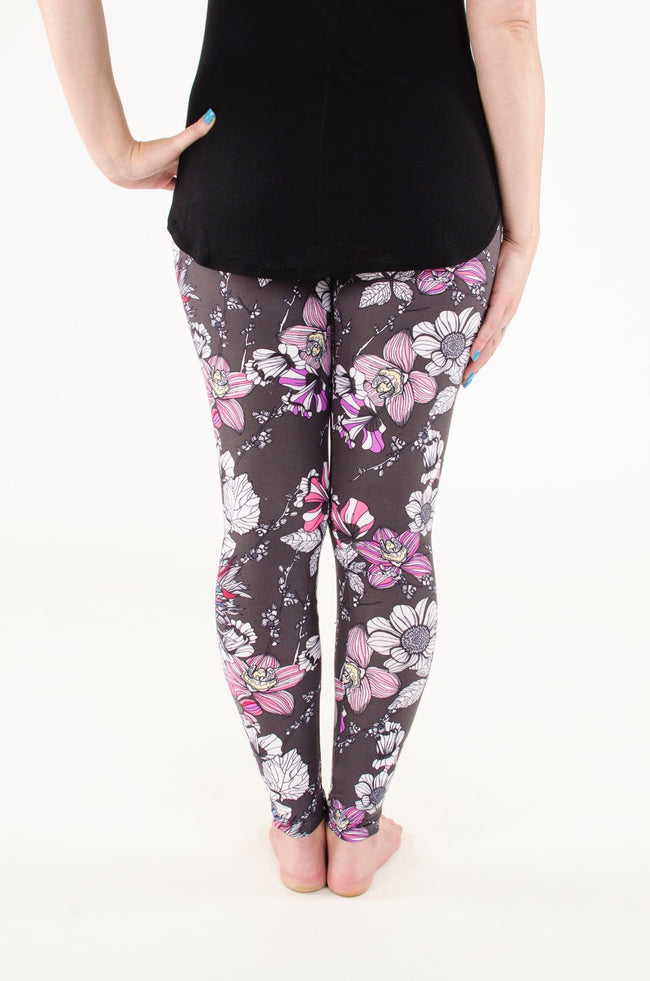 Night Blossom leggings - SweetLegs