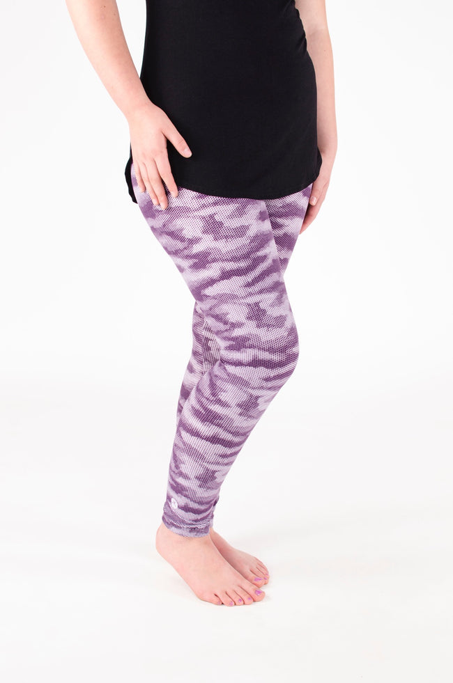Purple Rain Petite leggings - SweetLegs