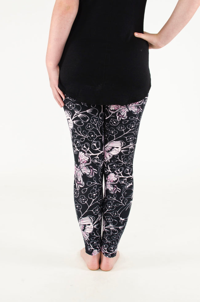 Painted Lady Petite leggings - SweetLegs