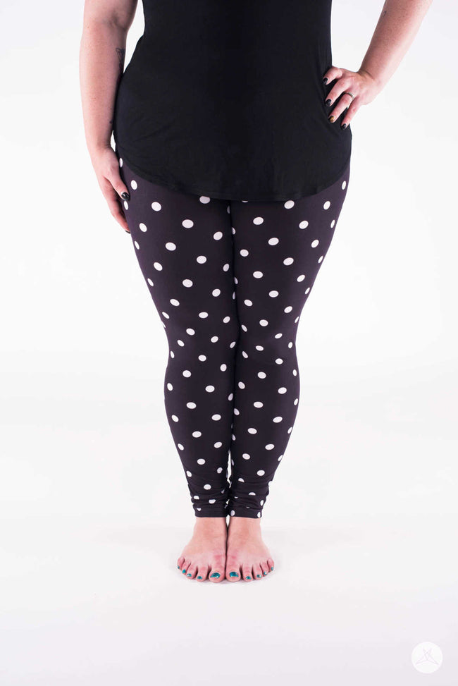 Moonbeams Plus leggings - SweetLegs