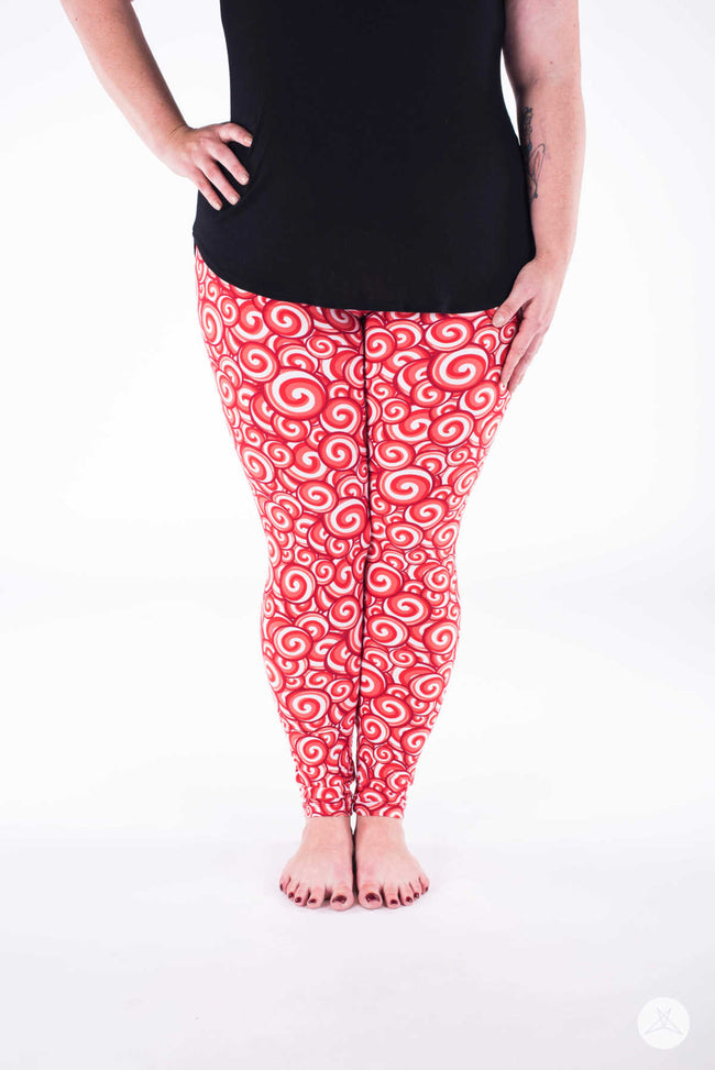Candyland Plus leggings - SweetLegs