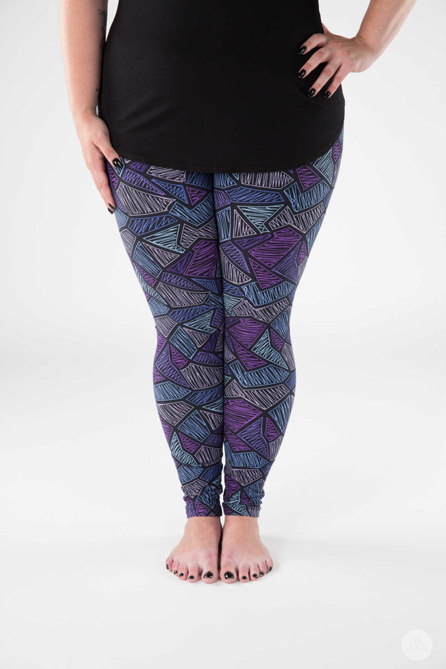 Electro Pop Plus leggings - SweetLegs